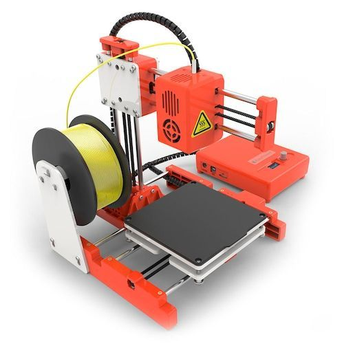 Easythreed X2 Mini FDM 3D Printer with Digital Screen Display Cooling Fan  Support WiFi