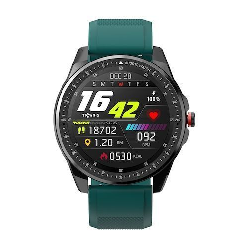 TICWRIS RS Smart Watch 1.3 inch Ultra-thin 9mm 50 Days Standby 31 Sports  Modes IP68 Waterproof Bluetooth 5.0 Get One Strap Free