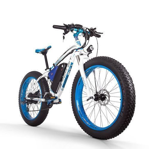 RICH BIT RT-022 Ebike 48V 17Ah Li-battery 4.0 In Fat Tire Bicycle Snow  Electric Bike Mountain Accelerator Throttl