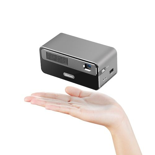 Alfawise HDP300 DLP 1080P 300 ANSI Lumens Smart Mini Projector Portable  Home Cinema with 7000mAh Battery Hi-Fi Stereo Speaker Bluetooth