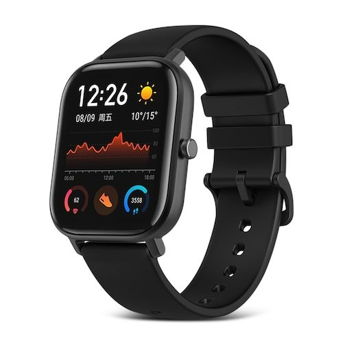 AMAZFIT GTS 1.65 inch AMOLED Display GPS Smart Watch 12 Sports Mode 5ATM  Waterproof 14 Days Battery Life Global Version