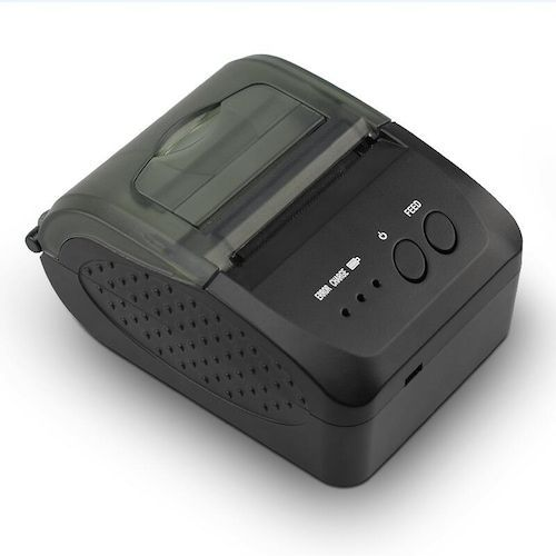 ZJ-5809 Portable Thermal Printer for Takeaway Small Ticket, Dining Small  Ticket, Graphic QR Code Full Printing