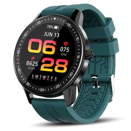 Kospet Magic 2S Smart Watch 40 Sport Modes 1.3 inch HD 360 x 360 Resolution  Screen 3ATM Waterproof Bluetooth 5.0 128M Flash Memory