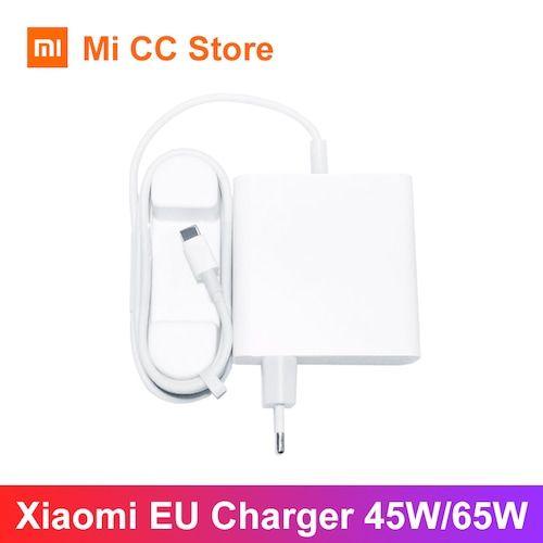 Xiaomi 65W Charger Type C Output EU Laptop Charger QC 4.0 Adapter USB C Port