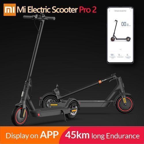 2020 Original Xiaomi Mijia Pro 2 Smart Electric Scooter Foldable Mi  Hoverboard Skateboard Kick Scooter with APP 45KM Mileage
