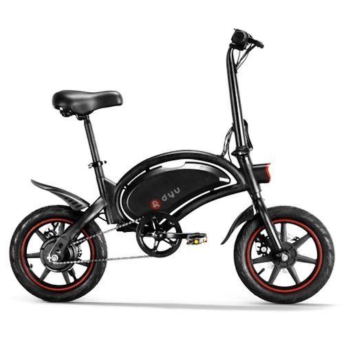 DYU D3F Electric Balance Bike 36V 10AH Battery 250W Motor Bike Electric  Assistance Black