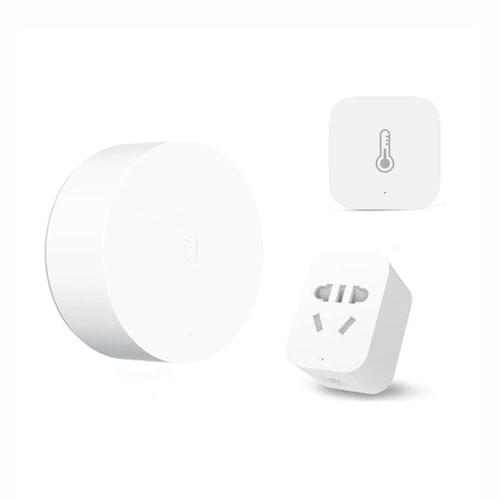 Xiaomi Smart Home Kits Multimode Gateway Door Window Sensor Human Body  Wireless Switch Humidity Zigbee Socket MI APP