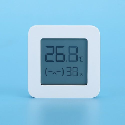 Mijia LYWSD03MMC Bluetooth 4.2 Household Thermometer Hygrometer Second  Generation Wireless Smart Electric Digital Display Intelligent Linkage Baby  Mode Work with Mijia APP