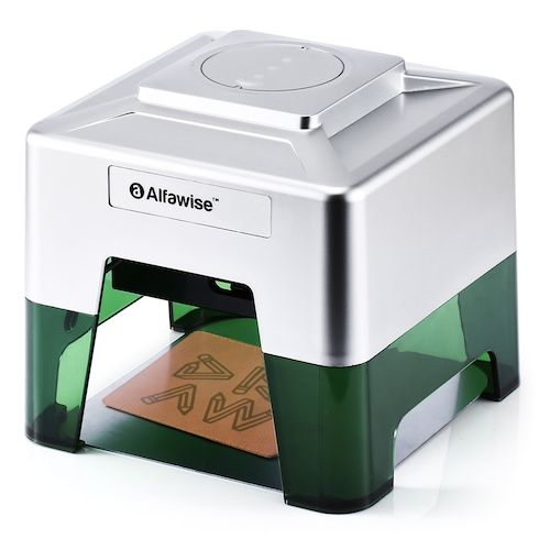 Alfawise C50 Mini Wireless Smart Laser Engraver Cutter APP Operation  Freely DIY Various Materials Engraving Machine 98 x 88mm Engraving Area