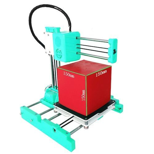 Easythreed X3 Mini Build Volume 3D Printer 150 x 150 x 150mm with Hotbed  Small Education Entry Level Consumer Personal 3D Printer