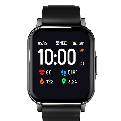 Haylou LS02 1.4 inch Large HD Screen Smart Watch Bluetooth 5.0 Long  Standby Wristwatch Global Version