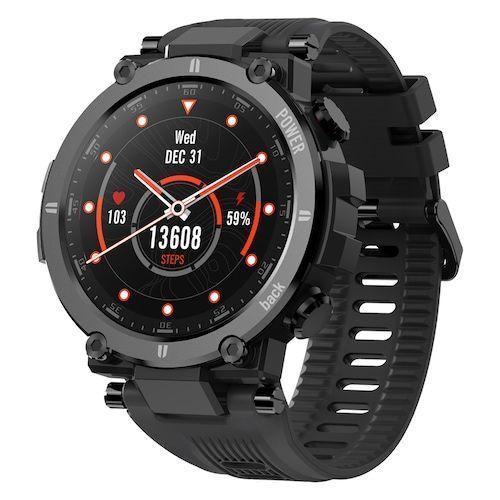Kospet Raptor Outdoor Smart Watch Rugged 1.3 Inch Smartwatch 30 Days 20 Sports Modes IP68 Waterproof Original Creative UI Watch Face