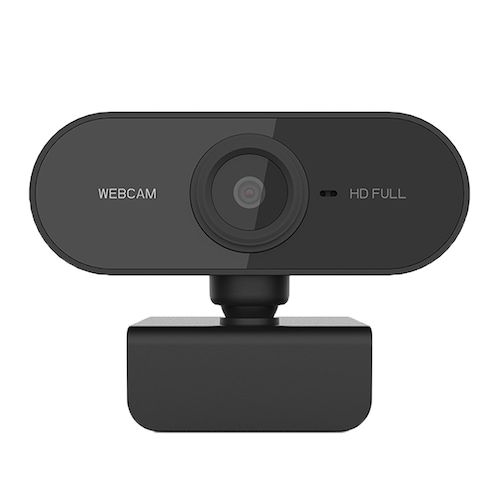 PC-C1 1080P HD Webcam with Mic Rotatable PC Desktop Web Camera Cam Mini  Computer Cam Video Recording Work