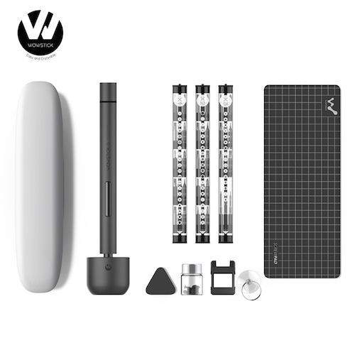 Original Youpin Wowstick 1F+ 64 In 1 Electric Screwdriver Cordless Lithium-ion Charge LED Power Screwdriver kit - 1F