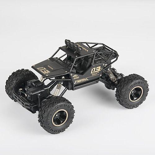 4WD RC Car Updated Version 2.4G Radio Control RC Car Toys Remote Control Car Trucks Off-Road Trucks boys Toys for Children - alloy 28cm 1   3%commissions  (entrepot EU)