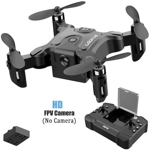 Mini Drone With Without HD Camera Hight Hold Mode RC Quadcopter RTF WiFi FPV Quadcopter Follow Me RC Helicopter Quadrocopter - NO camera 1 battery