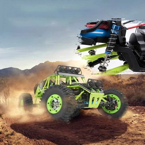 WLtoys 12428 RC Car 4WD 1 12 2.4G 50KMH High Speed Monster Vehicle Remote Control Car RC Buggy Off-Road Car - USB Plug