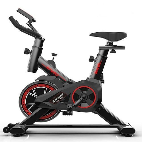 Indoor Recumbent Exercise Bike Folding Spinning Bike Home Gym Reebok Exercise Bike Fitness Equipment Sport Cycling Bike for Weight Loss - Black France  (entrepot FR), 8%commissions