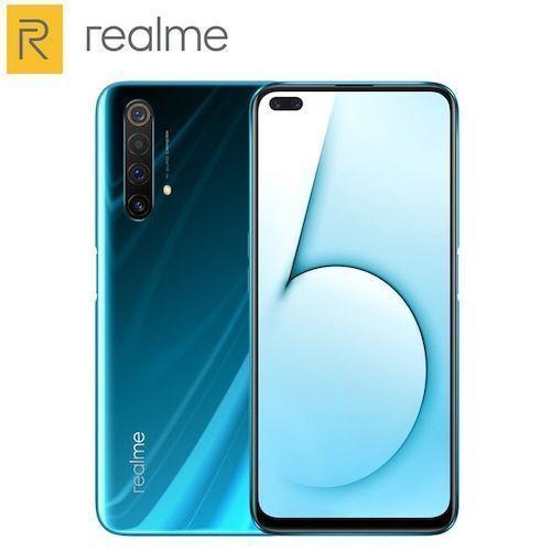 Realme X50 5G Mobile Phone 256GB 128GB ROM 12GB 8GB RAM 6.57 inch Snapdragon 765G Quad Main Camera 64MP 4200mAh NFC 5G Smartphone - 8GB 128GB Glacier Standard N gifts