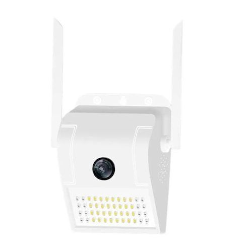 XiaoVV MVR3120S-D6 (V380) Smart 1080P H265 Waterproof Wall Light IP Camera 180 Degree Panoramic IR Night Vision Motion Detection AP Hotspot Smart Induction Lamp Outdoor Cameras - White EU Plug