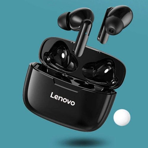 Lenovo XT90 Bluetooth 5.0 Earbuds Headphone TWS Wireless Earphones - Black