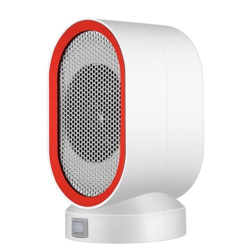 Mini Electric Heater Portable Home Heating Fan 400W Miniature Low Power  Small Sun Heating Machine Low Noise Warm Air Blower 38D