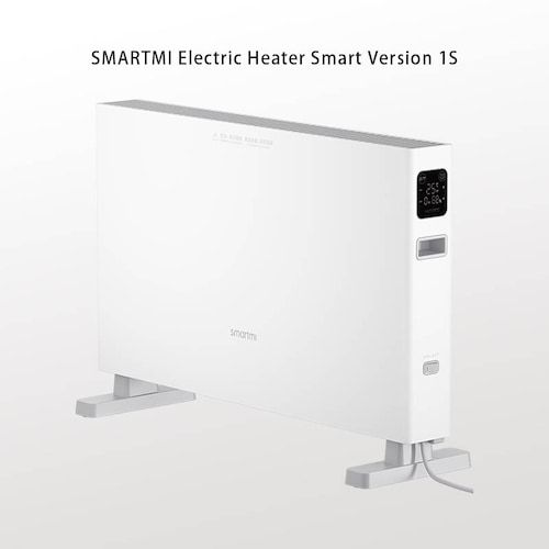 Electric Heater Smart Version 1S Fast handy Heaters for Home Room Fast  Convector Fireplace Fan Wall Warmer Silent