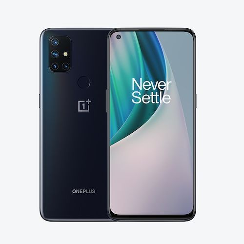 World Premiere Global Version OnePlus Nord N10 5G 6GB 128GB Snapdragon 690 Smartphone 90Hz Display 64MP Quad Cams Warp 30T NFC - Gray Standard France (entrepot FR)