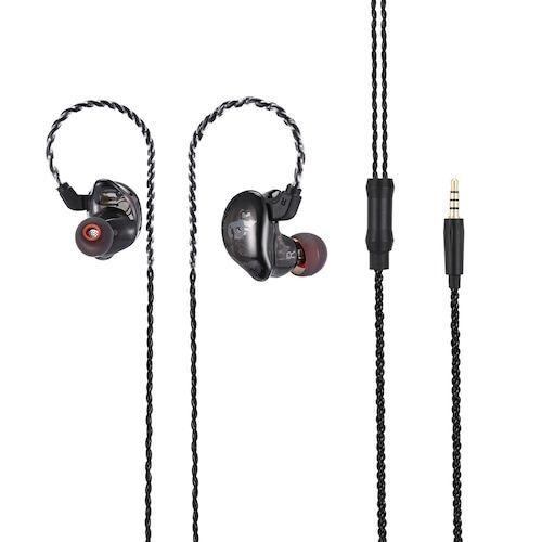 Alfawise V10 HiFi In-ear Stereo 8 Drives Hybrid Headphones