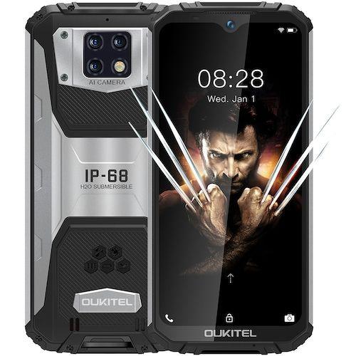 OUKITEL WP6 4G Smartphone 10000mAh Battery 6.3 Inch 48MP+ 5MP+0.3MP Rear  Camera 6GB RAM 128GB ROM IP68 Waterproof Global Version