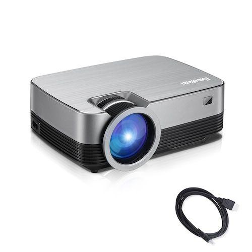 Excelvan Q6 Upgraded 1800 Lumens Projector