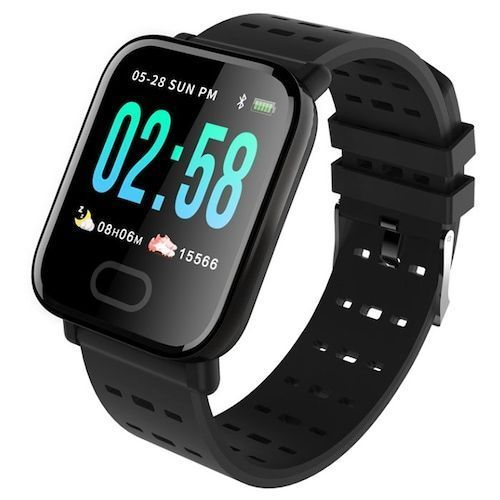 Gocomma A6 Color Screen Smartphone Watch Real-time Monitoring Of Heart  Rate, Blood Pressure, Sleep Waterproof Watch