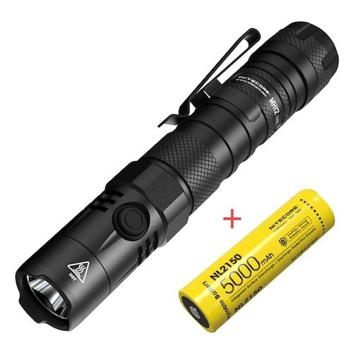 NITECORE MH12 V2 1200LM Classic Direct Charge Almighty Small Straight  Flashlight