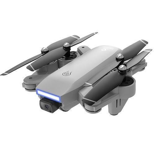Dual Camera HD 4K Folding RC Drone Four-axis Aircraft - 5G 4K Optical Flow Gray + GPS Version Servos