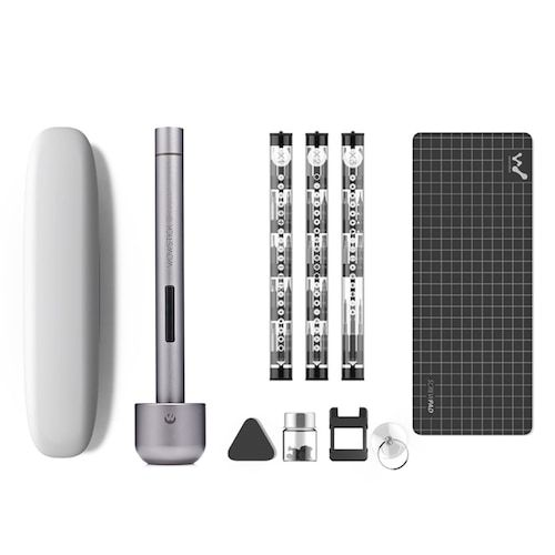 WOWSTICK 1F+ Precision Screwdriver Kit for Repairing Work - Carbon Gray