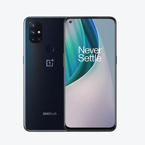 World Premiere Global Version OnePlus Nord N10 5G 6GB 128GB Snapdragon 690 Smartphone 90Hz Display 64MP Quad Cams Warp 30T NFC - Gray Standard France