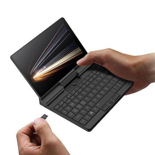 One Netbook A1 360 Degrees 2-in-1 7 inch IPS Pocket Laptop Intel M3-8100Y  8GB RAM + 256GB / 512GB PCIe SSD 6000mAh Windows 10 License