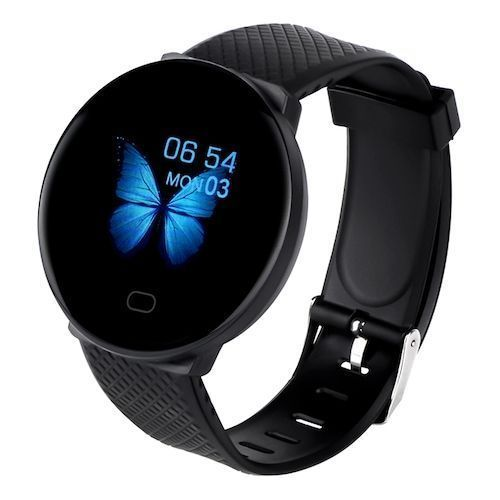 D19 Smart Watch Women Heart Rate Blood Pressure Monitor Men Bluetooth  Smartwatch Wristband Fitness Tracker