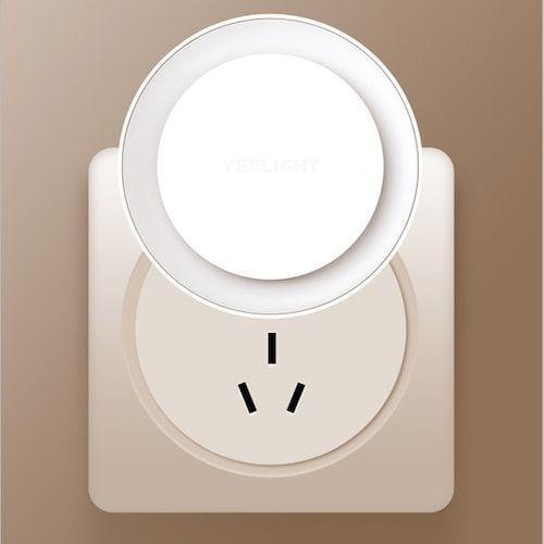 Yeelight Plug-in Night Light Round Light-sensitive Version EU Plug from  Youpin