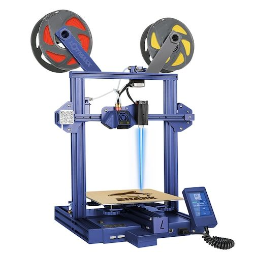 LOTMAXX SC-10 SHARK Dual Color / Dual Color + Laser Engraving 2-in-1  3.5-inch Touch High Quality FDM 3D Printer