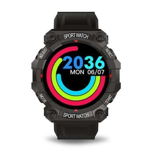 FD68 Smart Watch Color Screen Heart Rate Blood Pressure Sleep Monitoring  Information Reminder Sports Smartwatch