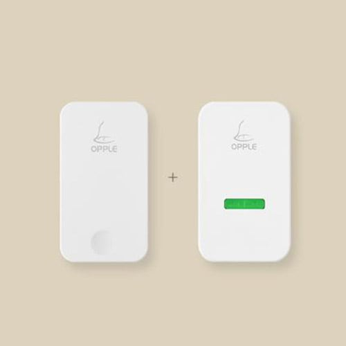 Youpin Self-Powered Wireless Doorbell 80 Meters Wireless Transmission 5  Levels Of Volume Power Off Memory Ipx4 Doorbell