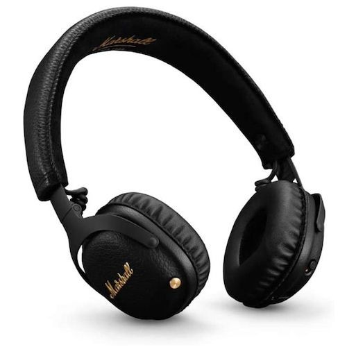 Marshall Mid ANC Bluetooth with Multi-way Control Button Foldable Manual  Noise Reduction Wireless Earphones