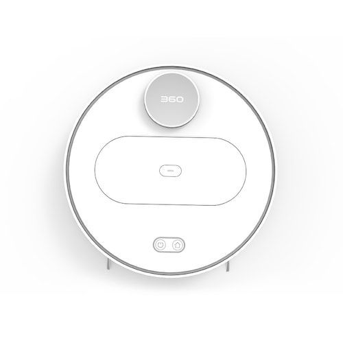 360 S6 Robot Vacuum Cleaner 1800Pa Suction Mopping Sweeping Mode APP  Remote Control LDS Lidar SLAM Algorithm