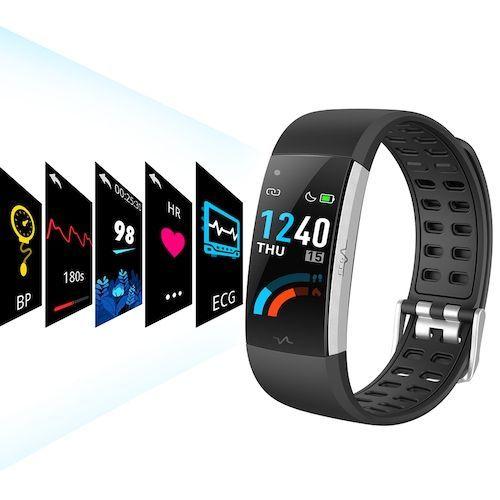 Alfawise I7E ECG Monitor AI Intelligent Analysis Smart Bracelet