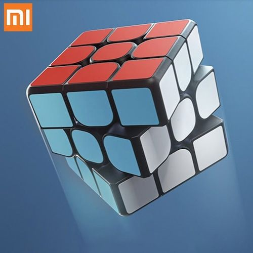 Original XIAOMI Original Bluetooth Magic Cube Smart Gateway Linkage 3x3x3  Square Magnetic Cube Science Education Toy Gift