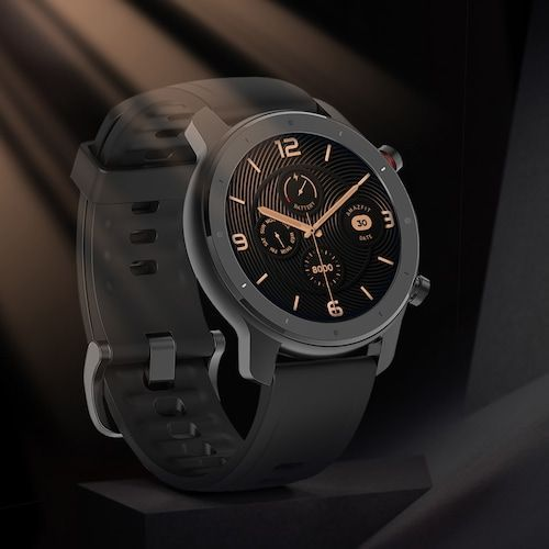 Amazfit GTR Lite 47mm Smartwatch 24 Days Battery Life 5ATM Waterproof  Ceramics Bezel AMOLED Screen 8 Sports Modes International Version