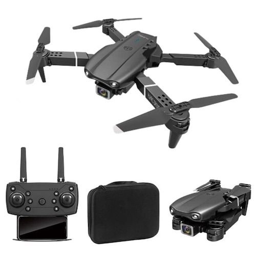 HJ97 WiFi FPV With 4K HD Dual Camera 15mins Flight Time Altitude Hold RC Drone Quadcopter RTF - Black Dual 4K