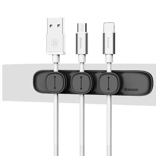 Baseus Magnetic Protector Cable Clip Desktop Tidy
