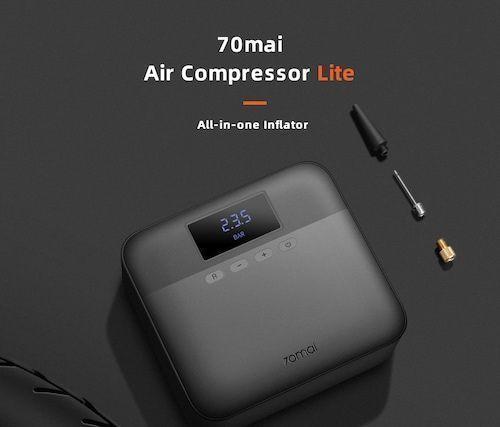 70mai Car Air Compressor Lite Protable Electric Car Air Pump Mini Compressor Tire Inflator Auto Tyre Pumb 12V - Air Compressor Lite Poland